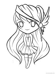 Anime Chibi Coloring Pages Bballcordobacom