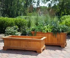 garden planters. Garden Planter Boxes Ideas Wood Planters