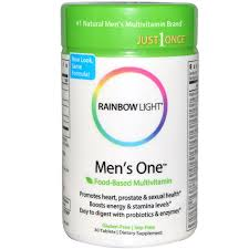 Rainbow Light Men S One Multivitamin Uk Pin On Products