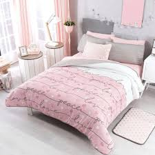pink bedding for girls peace love guarantee teen free blush and grey uk blush pink bedding sets gray and hot grey uk bed