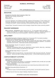 resume examples  job resume examples for college students resume    job resume examples for college students   relevant experience and employment