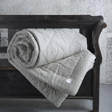 Design Vintage | Cotton Ticking Quilt | Tine K Home | Eiderdown ... & Design Vintage | Cotton Ticking Quilt | Tine K Home | Eiderdown Adamdwight.com
