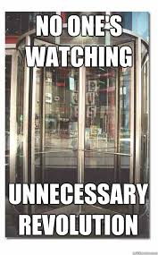 Revolving door memes | quickmeme via Relatably.com