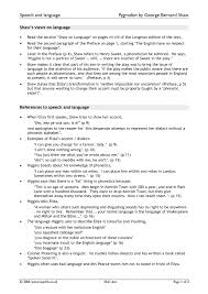 ks pyg on by george bernard shaw teachit english 3 preview