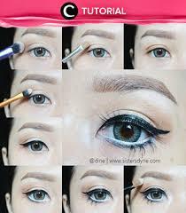 ingin belajar a makeup mata natural ala jepang kamu bisa simak tutorial lengkapnya berikut ini