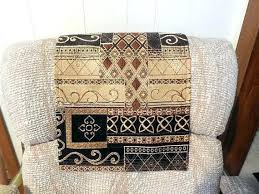 how to make furniture covers. How To Make A Recliner Headrest Cover Covers Protector Furniture Chair .