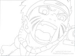 Naruto Coloring Pages Kakashi Online Sasuke Page Easy Akatsuki Nine