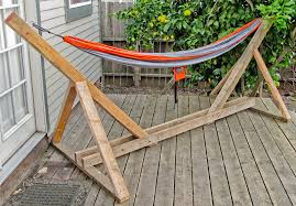 stylish build a wooden hammock stand wooden designs wooden hammock stand designs