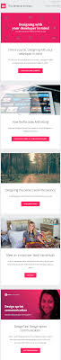 Great Email Marketing Design Examples 19 Examples Of Brilliant Email Marketing Campaigns Template