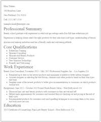 eye grabbing no experience resume samples   livecareerno experience esthetician resume sample