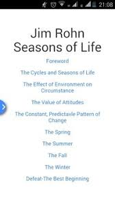 Seasons Of Life Quotes Jim Rohn Seasons of Life Book APK Download Free Education APP for 79