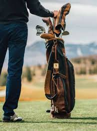 actor ian justin timberlake uses a custom made leather sunday bag from links kings adam heindorff ceo of links kings recounted a phone