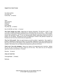 Cover Letter Recent Graduate Sample Cover Letter For Recent College