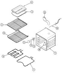 jenn air svd48600p gas electric slide in range timer stove svd48600p gas electric slide in range oven parts diagram
