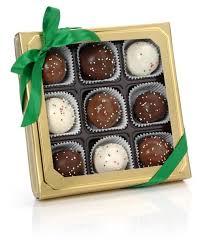 belgian truffle cake bons holiday gift basket