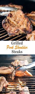 grilled pork steak recipe or bbq pork