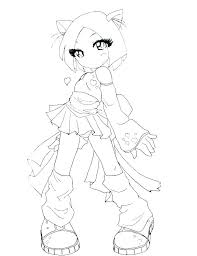 Anime Printable Coloring Pages Anime Colouring Pages Girl Anime Boy