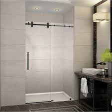 frameless sliding shower door hardware. Completely Frameless Sliding Shower Door In Oil Hardware A
