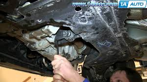 how to install replace lower engine torque strut mount 2000 07 ford focus you