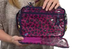 vera bradley luge large blush brush makeup case sku 8518978 you