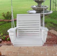 Photos Casual Living Classic Recycled Plastic Porch Swing Modern Outdoor Swingsets