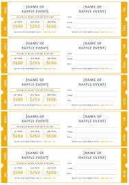 Free Printable Raffle Ticket Templates Ticket Template