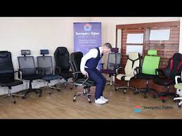 Офисное <b>кресло Бюрократ</b> CН 695N SL - YouTube