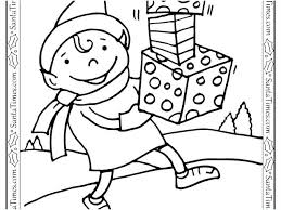 Elf Coloring Pages Girl Colouring Printable Best Of The Shelf