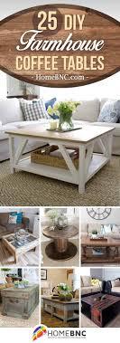 25 diverse diy farmhouse coffee table ideas for cozy homes