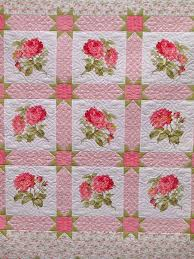 1328 best Floral Quilt Patterns images on Pinterest   Butterflies ... & Beautiful quilt with sashing and stars at the junctions. Adamdwight.com