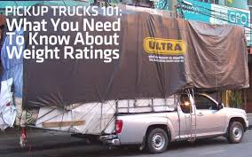 Pickup Trucks 101: What You Need To Know About Weight Ratings ...