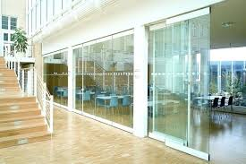 sliding glass wall movable glass partitions sliding glass walls interior