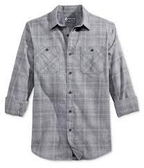 American Rag Mens Sketch Plaid Button Up Shirt