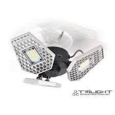 Stkr Trilight 3000 Lumen Motion Sensor Ceiling Light 00342