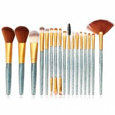 maange mag5734 flash diamond makeup brush set