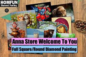 <b>HOMFUN</b> Full Square/Round Drill <b>5D DIY Diamond</b> Painting ...