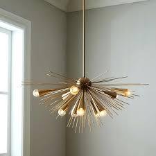 small modern chandeliers mini crystal chandelier sputnik