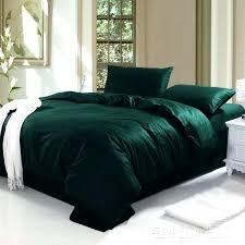 dark green duvet cover dark green bedding sets marvelous emerald duvet covers set home interior 0