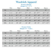 Woolrich Jacket Size Chart Milano Spaccio Akabe Funk Waregem