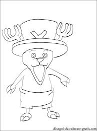 Tony Tony Chopper One Piece Da Stampare Disegni Da Colorare Gratis