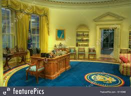 oval office picture. Clinton Oval Office Replica Picture T