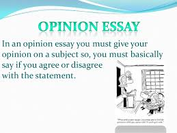 Opinion Essay Samples Opinion Essay Fce