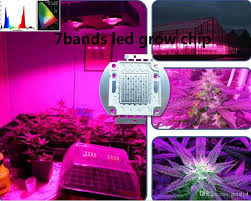 best for hydroponics diy led grow light 100w led 7bands full spectrum for