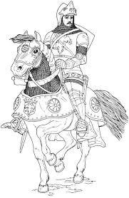 37168777 Ausmalbild Ritter Ritter Und Drache Kämpfen Kostenlos