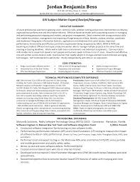Subject Matter Expert Resume Samples Awesome Collection of Subject Matter Expert Resume Samples Also 1