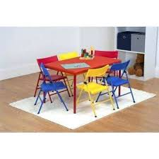 kids tables chairs playroom the home depot kids table chair set 7 piece red folding table and chair set furniture childrens table chair set canada childrens