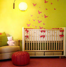 colorful baby nursery 1 How To Decorate My Room Without Spending Money .