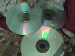 Small Picture Use Waste Music Video CDs to make Decorative items for your Home