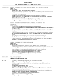 Resume For Social Work Child Protective Service Worker Resume Child Protection Worker Resume