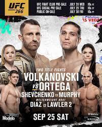 UFC - Startseite